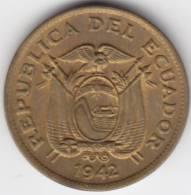 @Y@   Ecuador  20 Centavos 1942   UNC         (C238) - Equateur