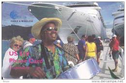 Britsh Virgin Islands, BVI-C1, Cruiseship, 2 Scans. - Vierges (îles)