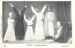Egypte - Ref 23- Derviches Hurleurs   - Carte Bon Etat  - - Egypt