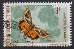 1971 - HAUTE-VOLTA - Y&T 244 - Ophideres Materna - Haute-Volta (1958-1984)