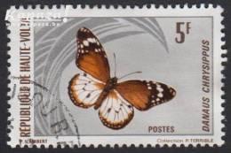 1971 - HAUTE-VOLTA - Y&T 245 - Danaus Chrysippe - Haute-Volta (1958-1984)