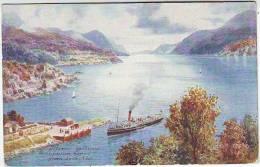 ILLUSTRATEURS. OILETTE. RAPHAËL TUCK & Sons. BONNIE SCOTLAND . CALEDONIA CANAL SERIE I. N; 7685 - Tuck, Raphael