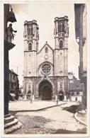 71. Cpsm. Pf. CHALON-SUR-SAONE. Eglise Saint-Vincent. 585 - Chalon Sur Saone