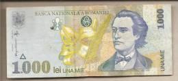 Romania - Banconota Circolata Da 1000 Lei - 1998 - Romania