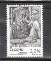 Spagna   -   2005.  Don Chisciotte.  Da Foglietto.  From Sheet - Writers