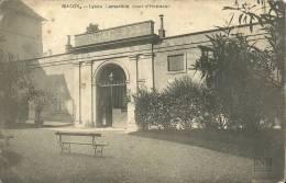 Macon Lycee Lamartine Cour D'honneur - Macon