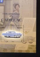 NEVIS   1348  MINT NEVER HINGED SOUVENIR SHEET OF CARS  # 583-2 (   CADILLAC - Autos