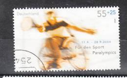 Germania  -   2004.  Tennis In Carrozzina.   Wheelchair Tennis. - Sport Voor Mindervaliden