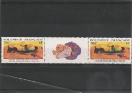 POLYNÉSIE  Année  1991 **  N° Y/T :385A  Côte 47,00 € - Polynésie Française