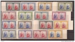 ES402-L3721TSC. Spain Espagne PRO CATACUMBAS DE SAN DAMASO EN ROMA1928. (Ed 402/33**)sin Charnela LUJO BORDE DE HOJA - Sellos