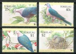 1995 Tokelau Fauna Uccelli Birds Oiseaux Set MNH** Te190 - Tokelau