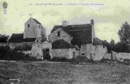 95-SAINT-WITZ-L´Eglise Et L´ancien Presbytère- - Saint-Witz