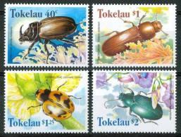 1998 Tokelau Insetti Insects Insectes Set MNH** Te191 - Tokelau