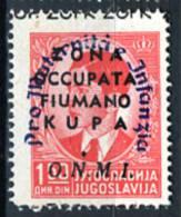 1942 - ZONA FIUMANO KUPA - Sass. 38 - Mi. 21 -  NH -  (W28012013.....) - Fiume & Kupa