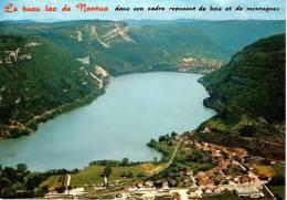 Le Lac De NANTUA : Altitude 480m - Vue D'ensemble, Au 1er Plan : Le Port, Au Fond : Nantua - Nantua