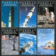 1999 Tokelau Spazio Space Espace Set MNH** Te194 - Tokelau