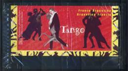 = France-Argentine P3932 Emission Commune Pochette Philatélique Musique Et Danse Le Tango Oeuvres Originales 3923 3924 - Gezamelijke Uitgaven
