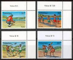 1979 Tokelau Sport Rugby Criket Set MNH** Te197 - Cricket