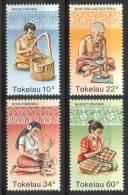 1982 Tokelau Artigianato Handicraft Artisanat Set MNH** Te198 - Tokelau