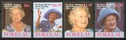 2000 Tokelau 100° Regina Madre Elizabet Set MNH** Te202 - Tokelau