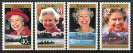 1996 Tokelau  Elizabet 75° Anniversario Set MNH** Te203 - Tokelau
