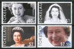 2006 Tokelau  Elizabet 80° Anniversario Set MNH** Te204 - Tokelau