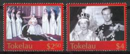 2003 Tokelau  Elizabet 50° Incoronazione Set MNH** Te205 - Tokelau
