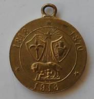Medaglia REGNO Patriottica Commemorativa Compimento Risorgimento 1948-1870-1918 TRENTO & TRIESTE - Italie