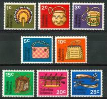 1971 Tokelau Artigianato Handicraft Artisanat Set MNH** Te211 - Tokelau