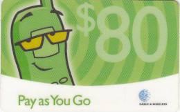 ANTIGUA & BARBUDA - C & W Prepaid Card $80, Used - Antigua And Barbuda