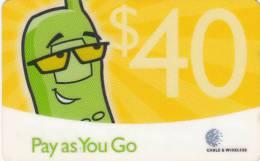 ANTIGUA & BARBUDA - C & W Prepaid Card $40, Used - Antigua And Barbuda