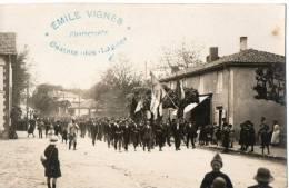 MARENSIN . GRÈVE DES RÉSINIERS DU MARENSIN AVRIL-MAI 1920 - Sonstige Gemeinden