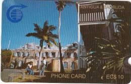 "ANTIGUA & BARBUDA(GPT) - Nelson""s Dockyard, First Issue EC$10, CN : 1CATB, Tirage 13500, Used - Antigua And Barbuda"