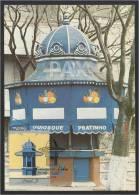 PORTUGAL - LISBOA - QUIOSQUE PRATINHO - RUA DA ARTILHARIA UM - BPC 67 - 2 SCANS - CARTE MAXIMUM - MAXICARD - Maximum Cards & Covers