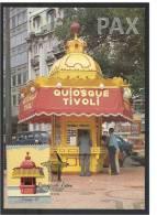 PORTUGAL - LISBOA - QUIOSQUE TIVOLI - KIOSK - BPC 65 - 2 SCANS - CARTE MAXIMUM - MAXICARD - Maximum Cards & Covers