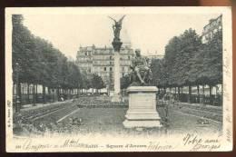 CPA  Précurseur  75 PARIS  Square D' Anvers - Markten, Pleinen