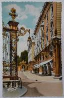 54 : Nancy - Grilles Jean Lamour Et Grand Hôtel - Colorisée - Petite Animation En Arrière Plan - Nancy