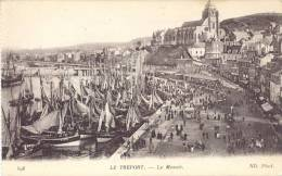 AK Le Treport Ca. 1920 (?) Le Musoir Port Hafen Navires Schiffe Bateaux à Voile Maritim / Dieppe Abbeville Rouen Amiens - Le Treport