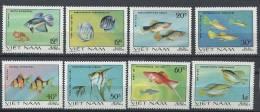 VIETNAM 1981 - Poisson Ornement Fish Fisch - Neuf Sans Charniere (Yvert 263/70) - Viêt-Nam