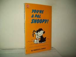"Charles M. Schulz (Ed. Coronet Books 1973)  N. 31   ""You´re A Pal Snoopy"" - Libri, Riviste, Fumetti"