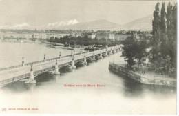 CPA PIONNIERE GENEVE (Suisse-Genève) - Genève Vers Le Mont Blanc - GE Genève