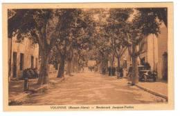 Cpa Du 04- VOLONNE - Boulevard Jacques Paulon (voiture) - Frankreich