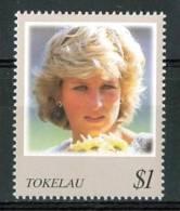 1998 Tokelau Lady Diana MNH** Te207 - Tokelau