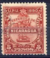 #E101. Nicaragua 1890. Michel 28. Used - Nicaragua