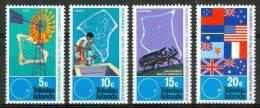 1972 Tokelau Commissione Del Pacifico Sud Set MNH** Te209 - Tokelau