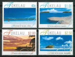 2001 Tokelau Paesaggi Landscapes Paysages Set MNH** Te218 - Tokelau