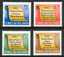 1969 Tokelau Pergamene Scolls Dèfile Set MNH** Te222 - Tokelau