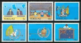 1988 Tokelau Politica Pollicy Politique Set MNH** Te225 - Tokelau