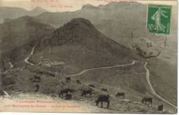 CPSM LE COL DE NEROMES (Cantal) - Montagnes Du Cantal : Puy Mary, Buron Du Chanal, Petit Puy - Zonder Classificatie