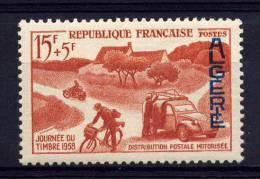 ALGERIE - N° 350** - JOURNEE DU TIMBRE / DISTRIBUTION MOTORISEE - Algeria (1924-1962)